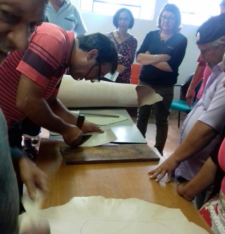 Adesivo De Arvore Para Fotos ~ Sindicato Rural de Botucatu promoveu curso de artesanato em couro na Casa do Artes u00e3o Botucatu